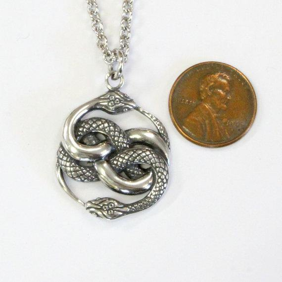 Auryn necklace sterling silver auryn pendant necklace neverending auryn necklace sterling silver auryn pendant necklace neverending story auryn jewelry mozeypictures Choice Image