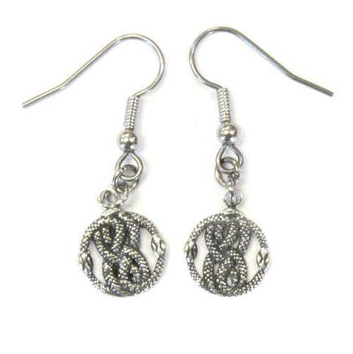 Tiny AURYN Earrings in Solid Sterling Silver Neverending Story