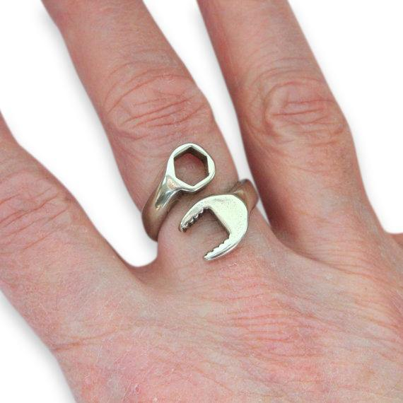 Spanner Wrench Adjustable Ring - Mens