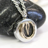 Horse Hoof Necklace Cremation Urn Necklace - Moon Raven Designs