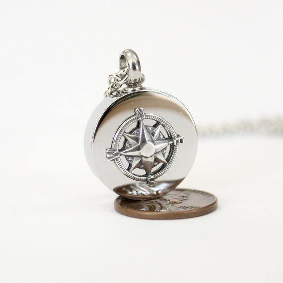Compass Rose Cremation Urn - Moon Raven Designs