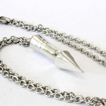 Medieval Silver Bodkin Arrowhead Pendant Necklace in Solid  Sterling Silver - Moon Raven Designs