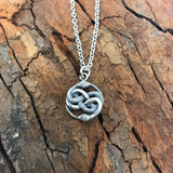 Auryn Ouroboros Necklace - Moon Raven Designs