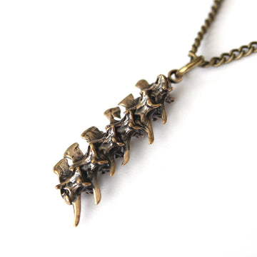 Snake Vertebrae Necklace - Moon Raven Designs