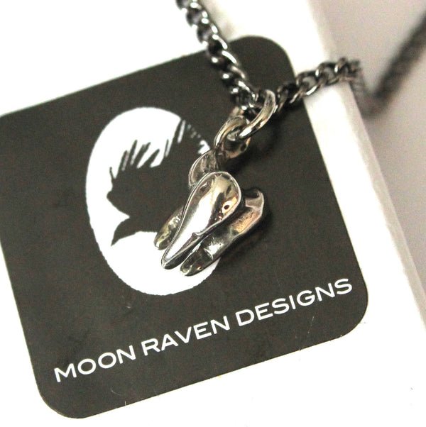 Three Root Human Molar Tooth Necklace - Moon Raven Designs