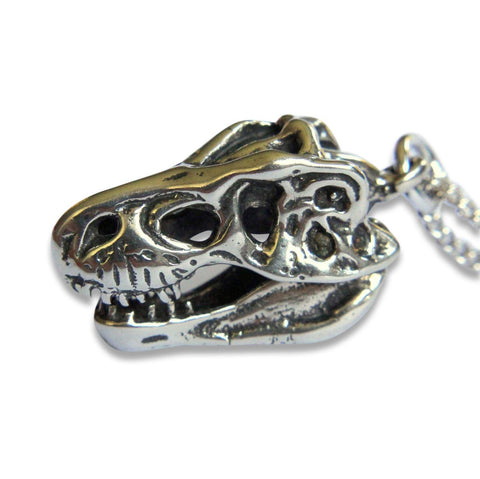 Trophy Deer Skull Pendant Necklace