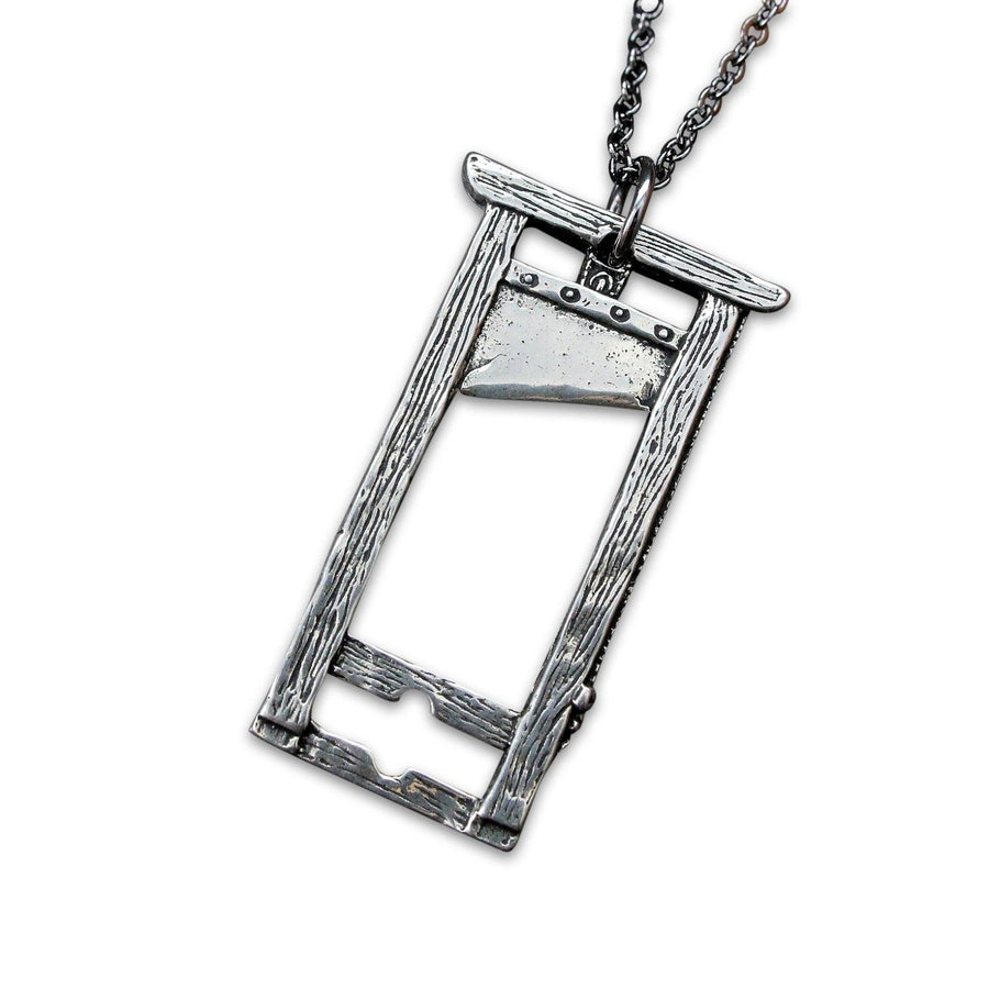 French Guillotine Necklace - Moon Raven Designs