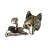 Wolf Mask Cuff Links - Moon Raven Designs
