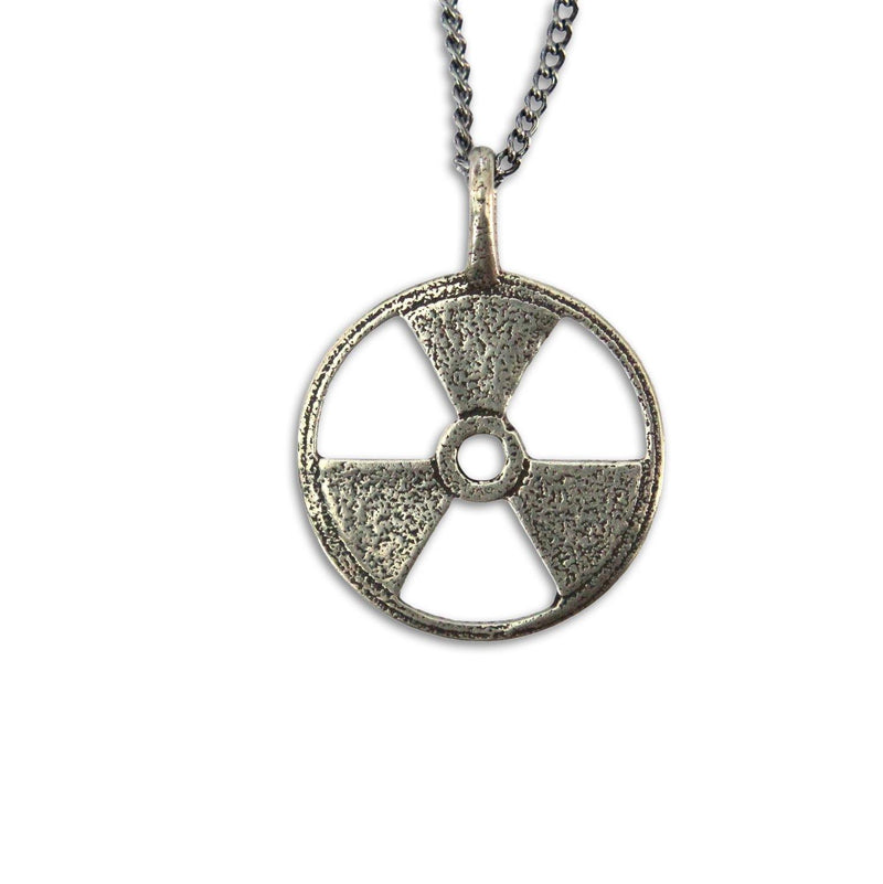 Radioactive Symbol Necklace - Moon Raven Designs