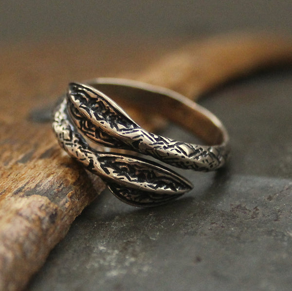 Viking Spearhead Ring - Moon Raven Designs