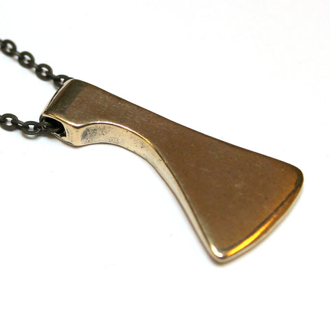 Axe Head Necklace - Moon Raven Designs