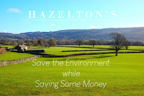 Save the environment while saving money