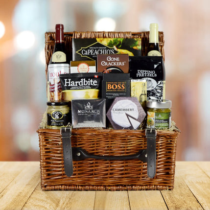 The Ample Wine Gift Basket, Free Shipping Canada