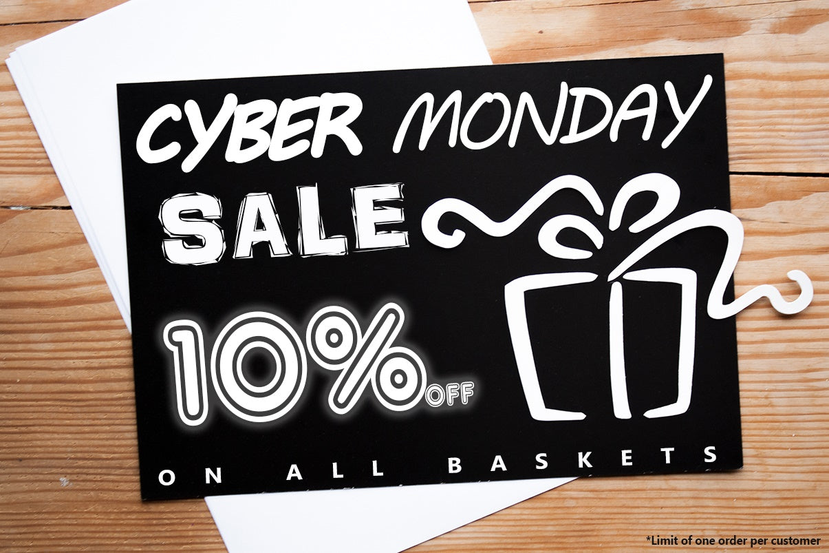 Cyber Monday Gift Basket Sale