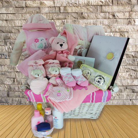 The Sleepy Time Baby Girl Gift Basket