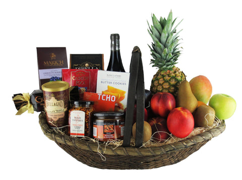 The Hanukkah Celebration Basket - Wine Optional!