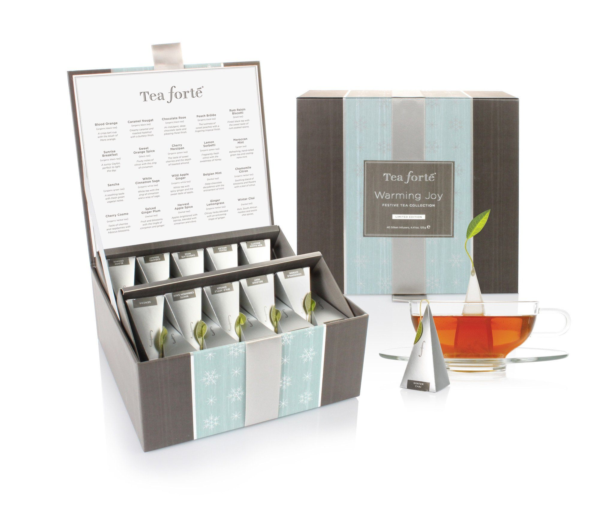 Warming Joy Festive Tea Chest