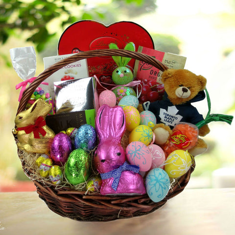 Easter gift baskets toronto canada toronto maple leafs easter gift basket negle