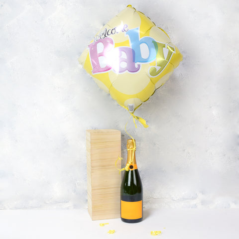 Champagne with Balloon