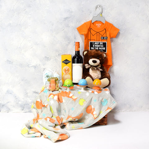 Baby Bear Gift Basket