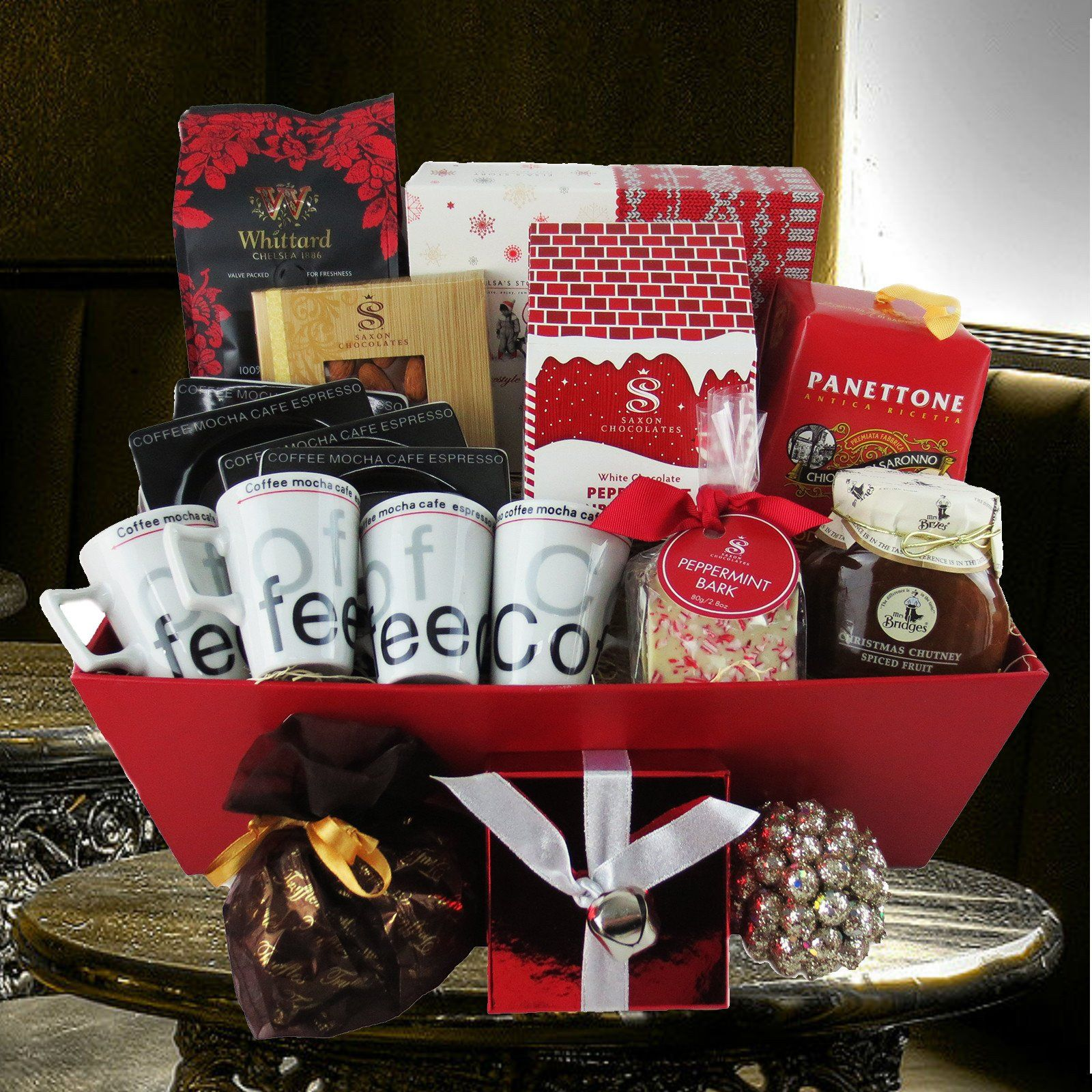 The Festive Coffee Gift Basket