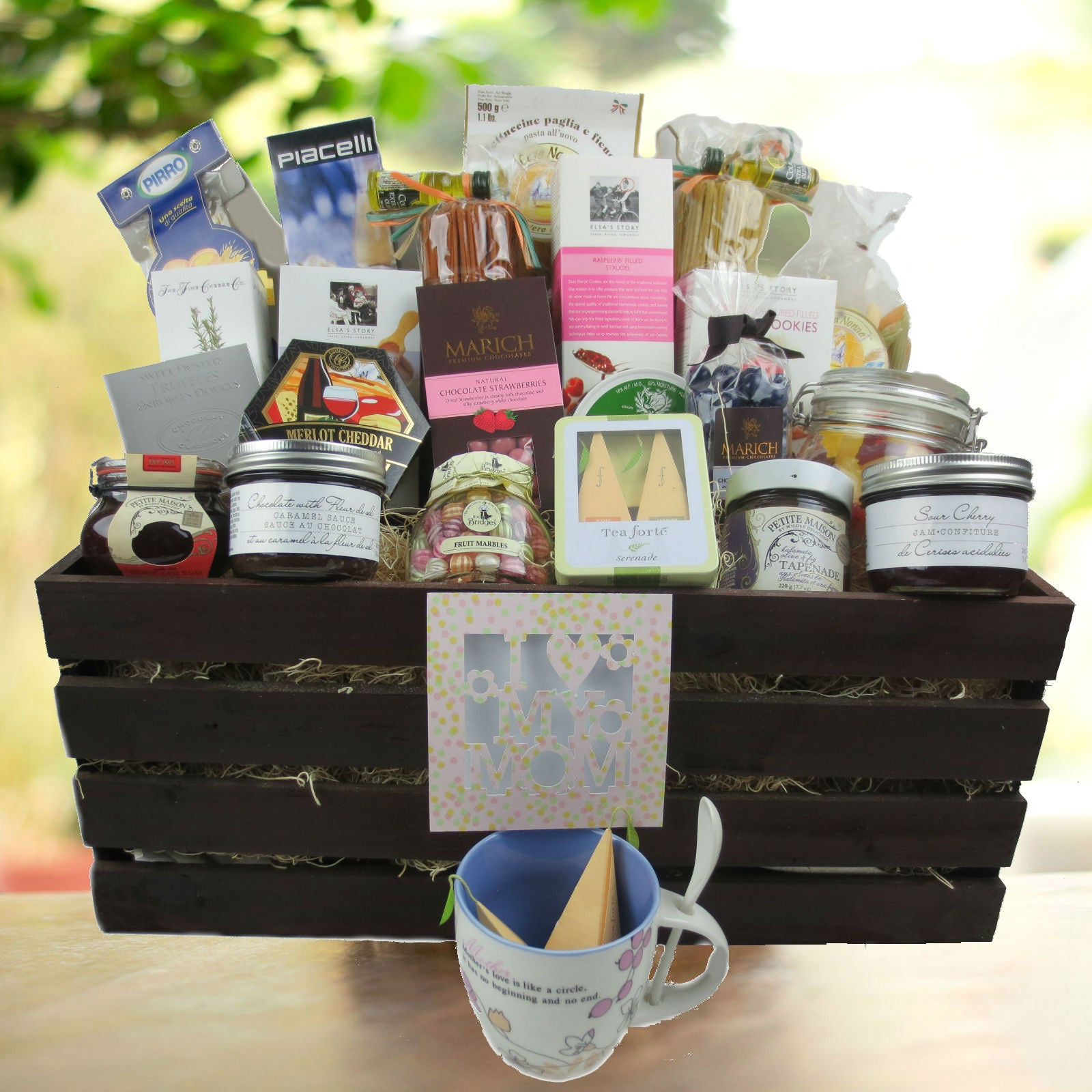 Custom Gift Baskets for Her