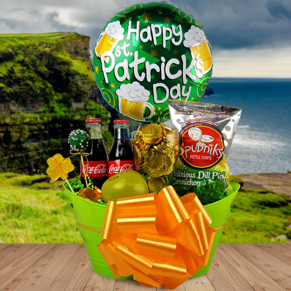 A Wee St. Paddy's Day Party Gift Basket