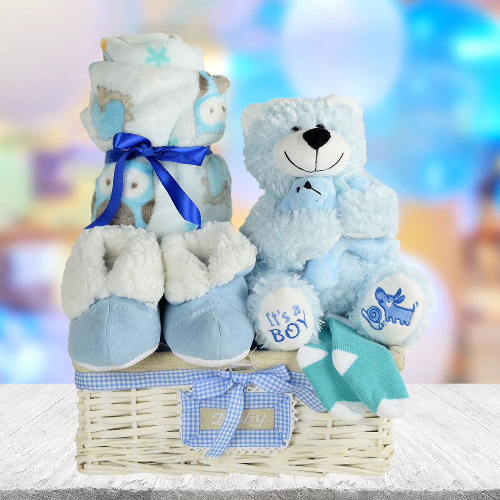 A Basket for a Baby Boy