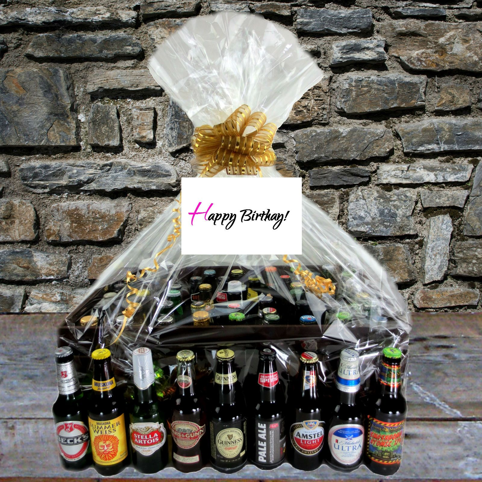 Custom Birthday Gift Baskets Toronto Canada