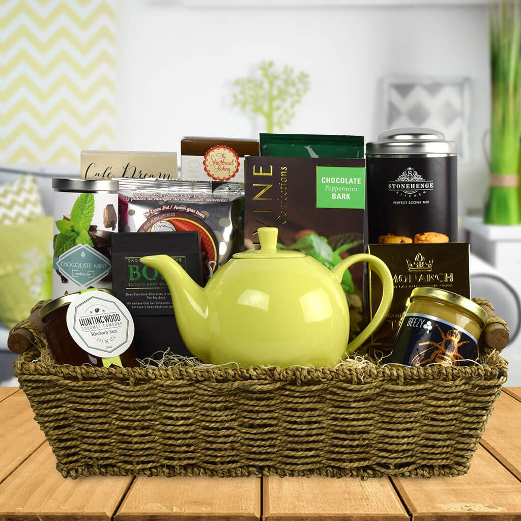 A Tea Lovers Delight Gourmet Gift Set