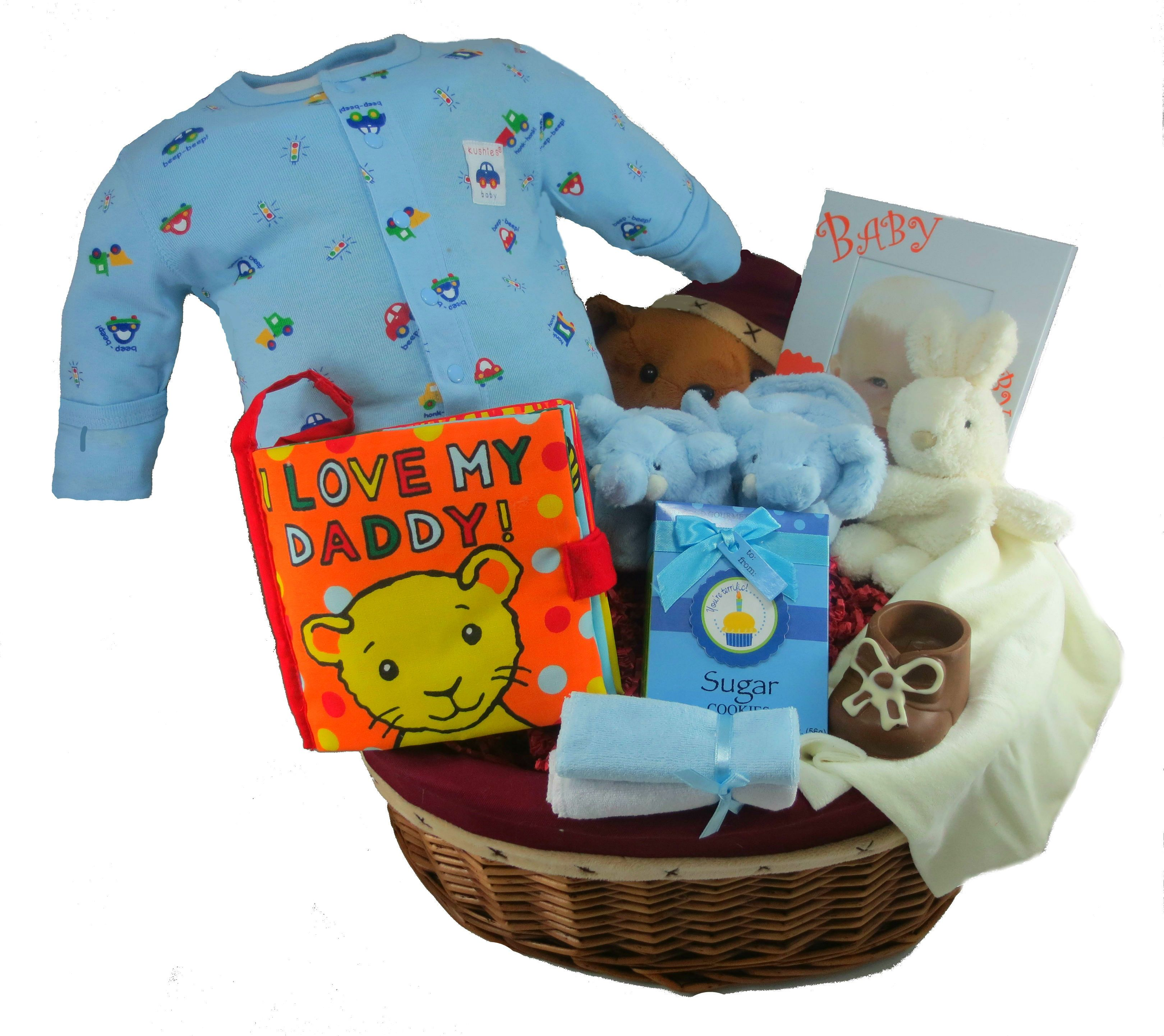 The Bear Baby Gift Basket