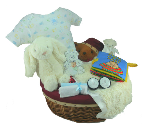 Big Bunny Baby Gift Basket