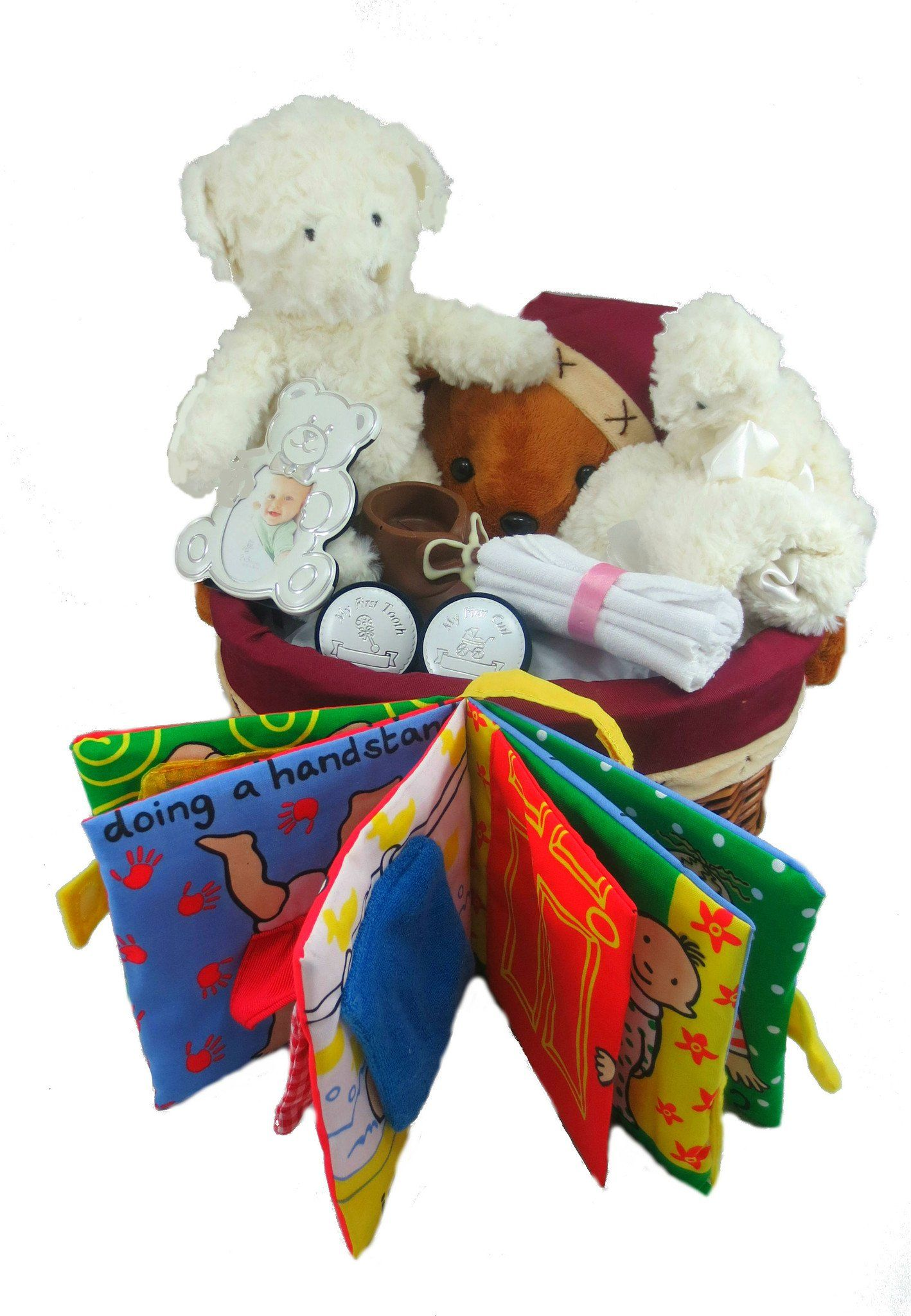 Bears Baby Gift Basket