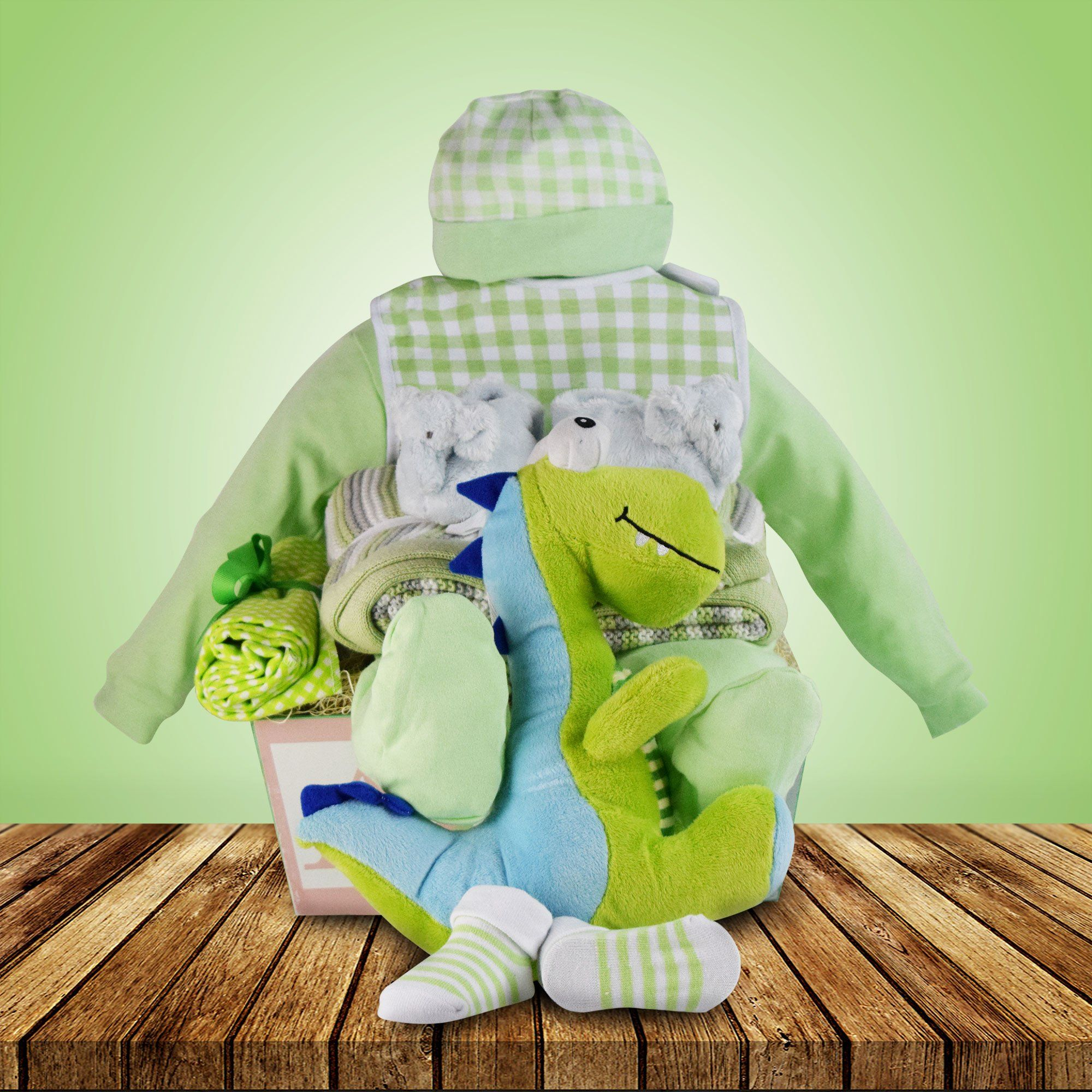 Roars and Snores Baby Basket