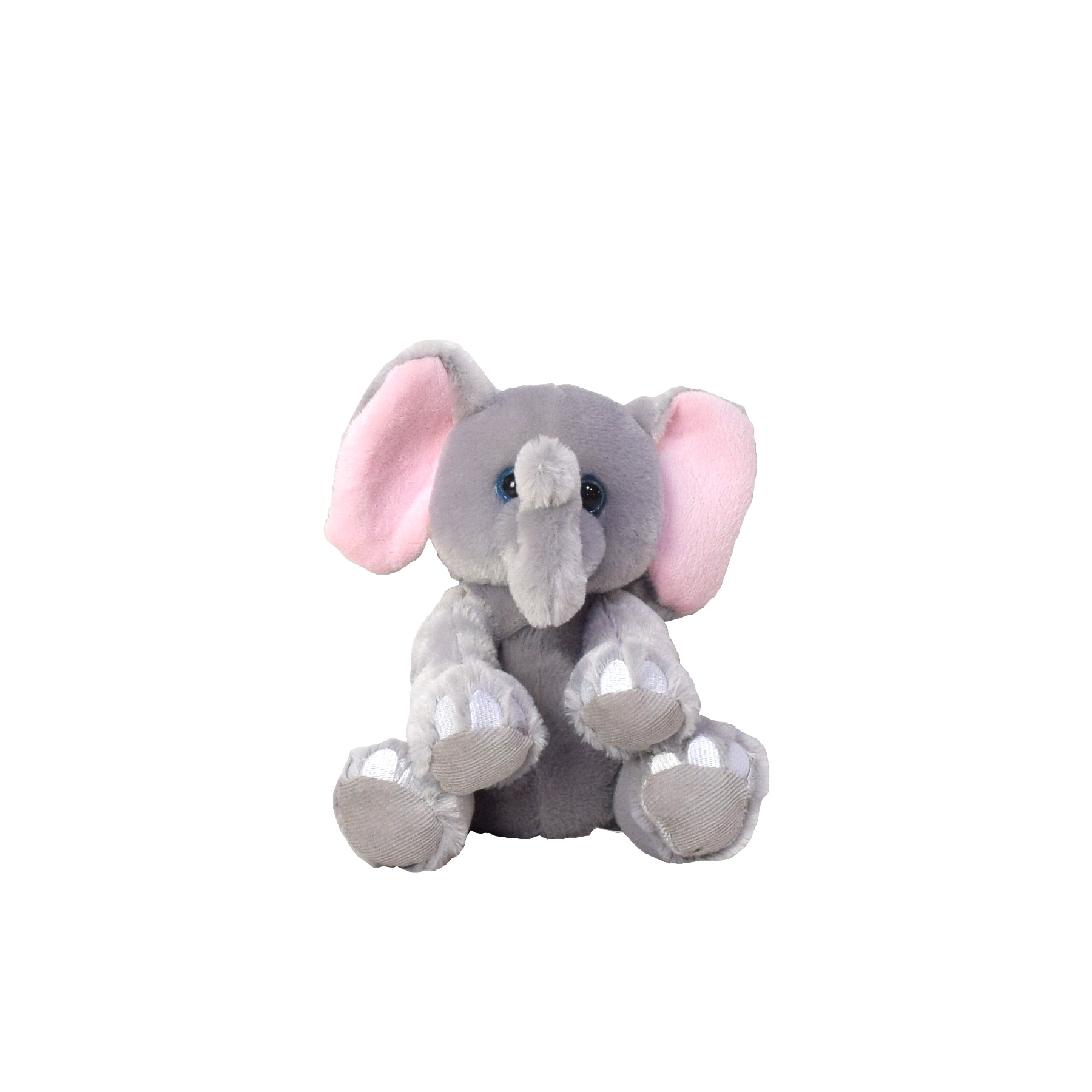 Plush Elephant Baby Gift Basket with Champagne