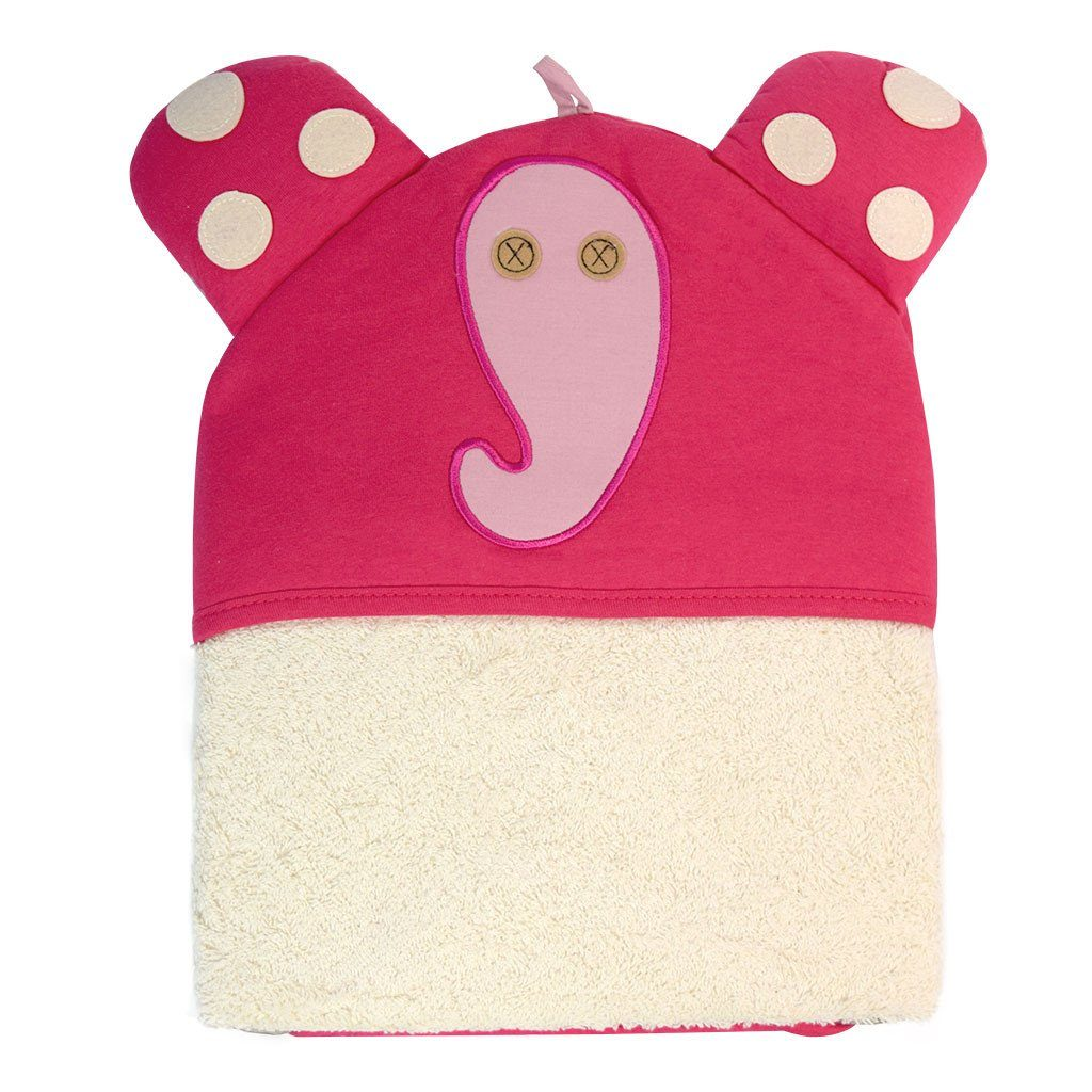 Bath towel with hood