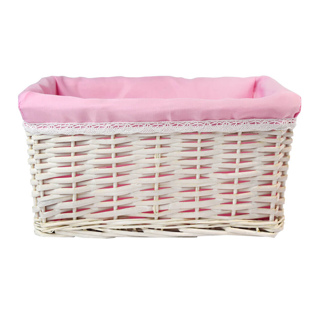 Extravagant Baby Girl Basket with Champagne