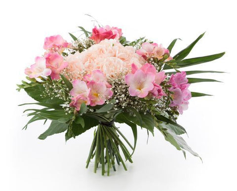 Floating on a Cloud Pink Bouquet