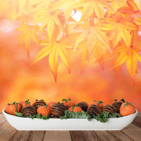 Thanksgiving Chocolate Dipped Strawberries Platter, Thanksgiving Snacks, Thanksgiving  gift baskets