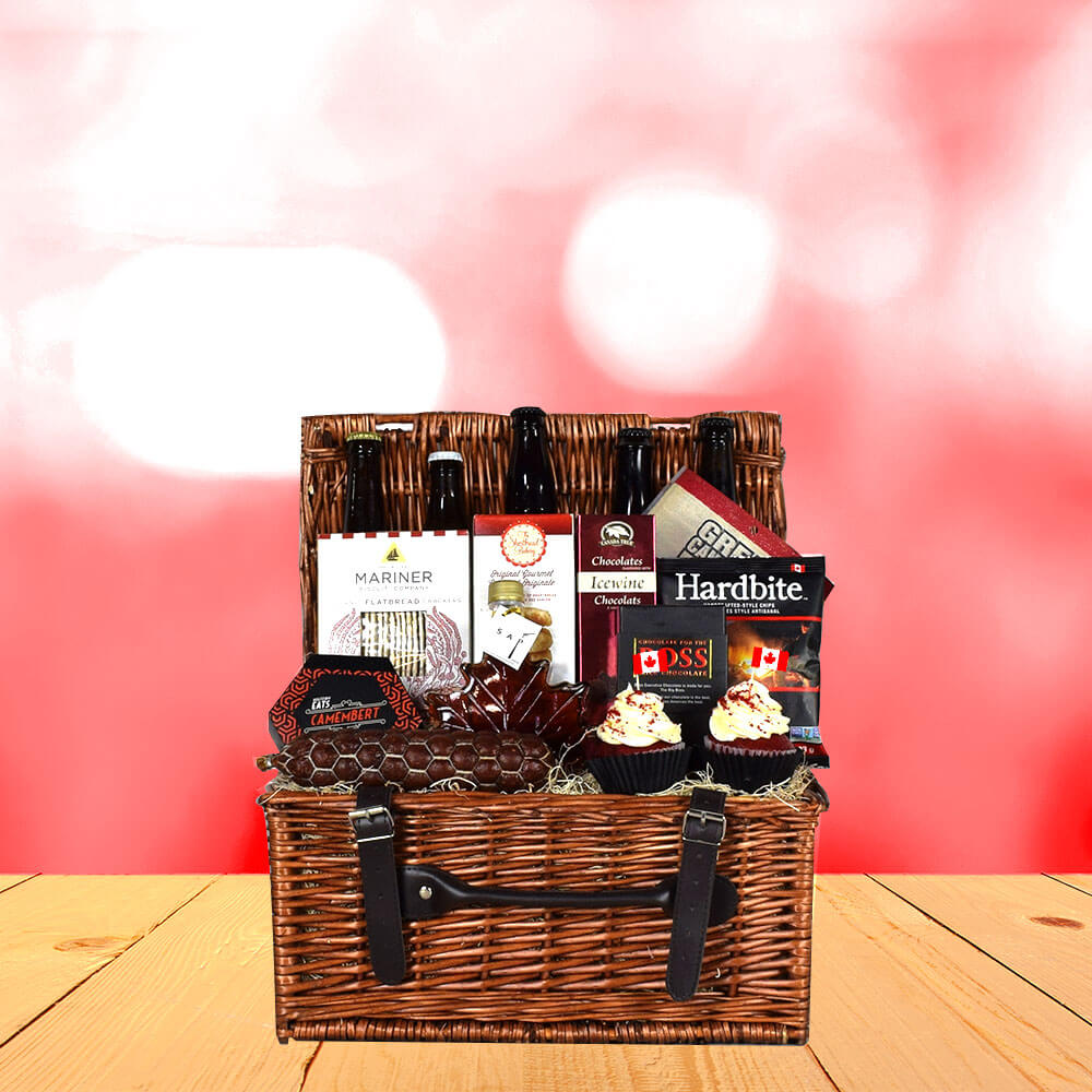 Canada Day Picnic Gift Basket