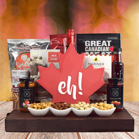 Canada's Sweet & Salty Gift Basket