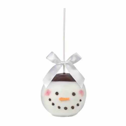 Candy Apple Snowman