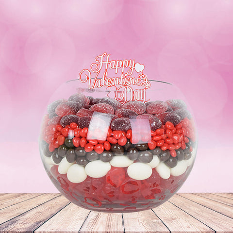 Candy Fishbowl Gift, gourmet gift baskets