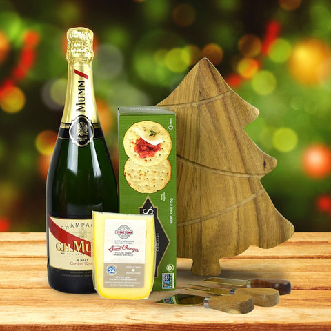 Champagne, Cheese & Crackers Gift Set