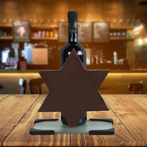 Chocolate Star of David Wine Gift