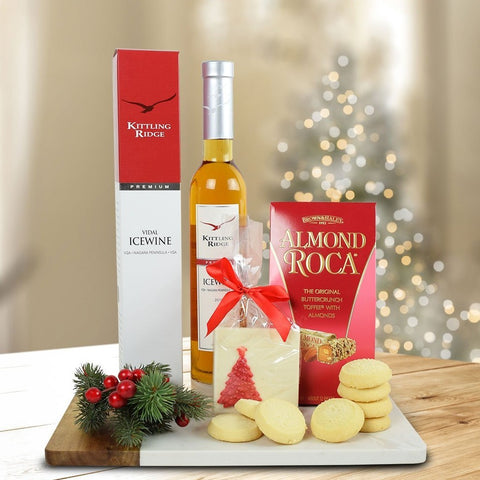 Christmas Chocolates & Icewine Gift Set