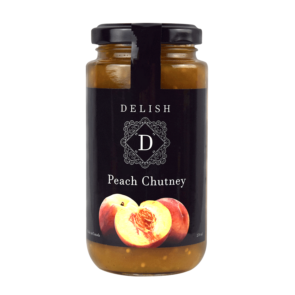 Delish Peach Chutney