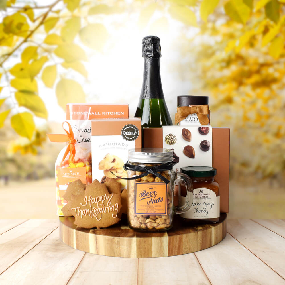 Thanksgiving Celebration Set, Thanksgiving gift baskets, Thanksgiving gift sets, Canada delivery, USA delivery