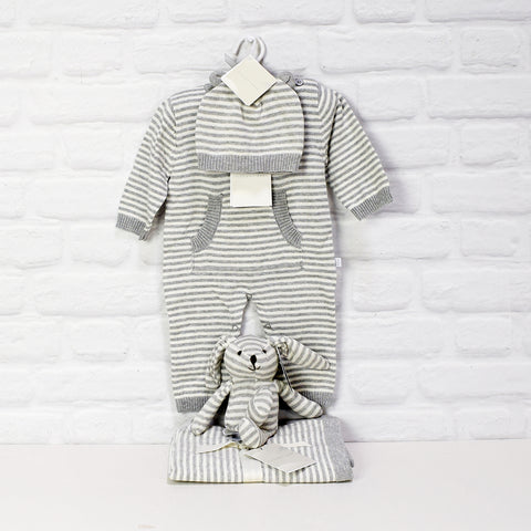 COMFORTABLE UNISEX BABY CLOTHING  GIFT SET