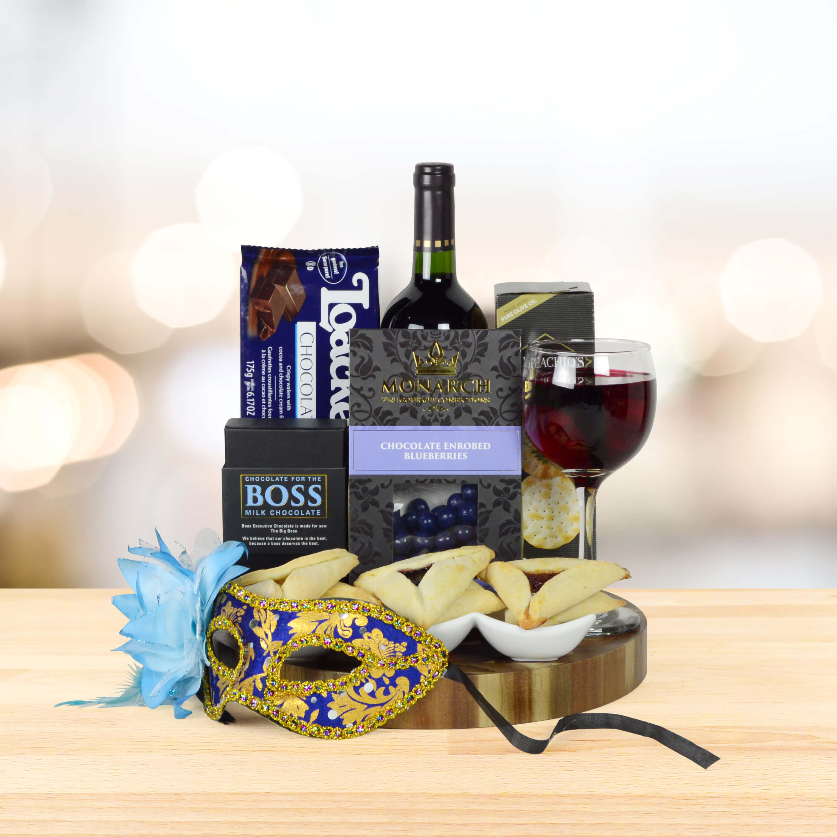 FROM DAWN TO DUSK PURIM GIFT BASKET